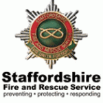 Staffordshire Fire and Rescue Service Badge