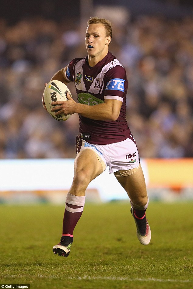 Manly's Daly Cherry-Evans has been put on standby to replace injured Cronk in the Queensland squad for the opening game of this year's State of Origin series