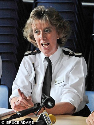 Sue Sim, 53, chief constable of Northumbria Police between 2010 and 2015, claimed the force had a 'macho and laddish' culture and accused former male colleagues of remarking on her make-up