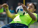 Sweden's forward and team captain Zlatan Ibrahimovic attends a training session in Bastad, Sweden, on June 1, 2016, where the team stays for a training camp as part of preparations for the upcoming Euro 2016 European football championships. / AFP PHOTO / JONATHAN NACKSTRANDJONATHAN NACKSTRAND/AFP/Getty Images