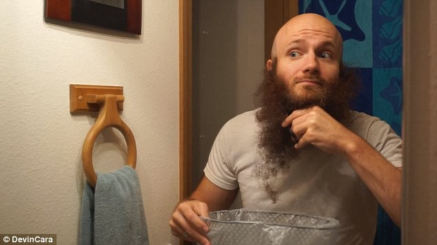 In 2013, Cara was filmed shaving off his monumental beard, which had earned him a number of trophies from local, national, and international beard competitions