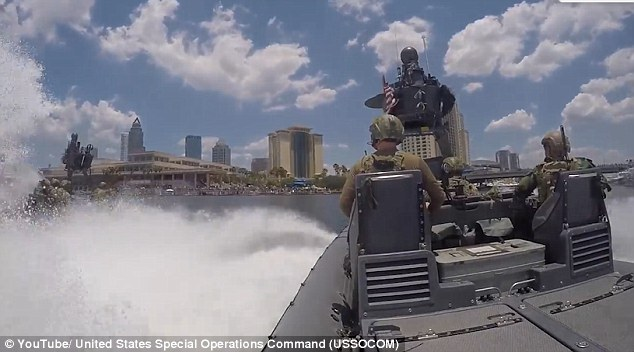 The event was part of theInternational Special Operations Forces Week 2016 in Tampa, Florida