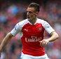 Jamie Vardy mock up in 2015-16 Arsenal shirt