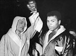 Muhammad Ali, born Cassius Clay, (right) and Henry Cooper after their fight at Wembley, London. Ali won after stopping Cooper in the fifth round. . REXMAILPIX. HENRY COOPER DIED 1/5/2011 . REXMAILPIX.