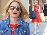 Exclusive... 52080998 'Power Rangers' actress Elizabeth Banks stops by a hair salon in Beverly Hills, California on June 3, 2016. Elizabeth recently announced that she will not be the director on the upcoming movie 'Pitch Perfect 3' but she will still act in the film. FameFlynet, Inc - Beverly Hills, CA, USA - +1 (310) 505-9876
