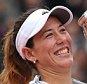 4/6/2016 French Open Tennis Roland Garros Paris France Garbine Muguruza beats Serena Williams in Ladies Singles Final   Picture Dave Shopland/Daily Mail