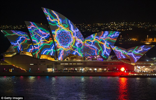 Some of Australia's most iconic landmarks will be bathed in lights from Friday night as Vivid Sydney - the world's largest festival of light, music and ideas - opens for 201