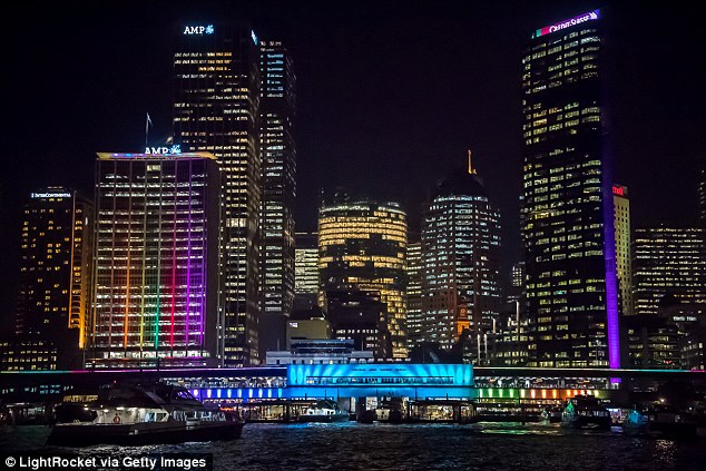 Various buildings across the CBD are involved in the light spectacle, which runs from May 27 until June 18