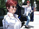 """*EXCLUSIVE* Beverly Hills, CA - A somber and casually dressed Sharon Osbourne arrives for a body therapy session at Touch Massage in Beverly Hills. Sharon wore no wedding band and appeared to be in the slumps as she walked indoors. The Talk cohost, 63, recently kicked out her longtime love Ozzy. A source told Us that the rocker, 67, was allegedly having an affair with L.A.-based hairstylist Michelle Pugh and """"supporting her.""""\n \nAKM-GSI   June  3, 2016\nTo License These Photos, Please Contact :\nMaria Buda\n(917) 242-1505\nmbuda@akmgsi.com\nsales@akmgsi.com\nor \nMark Satter\n(317) 691-9592\nmsatter@akmgsi.com\nsales@akmgsi.com"""