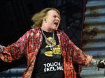 Mandatory Credit: Photo by Roger Goodgroves/REX/Shutterstock (5706029x) Axl Rose ACDC with Axl Rose in concert at the Olympic Stadium, London, Britain - 04 Jun 2016