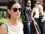 Picture Shows: Lily Aldridge  June 04, 2016\n \n 'Victoria's Secret' model Lily Aldridge was spotted out with husband Caleb Followill in New York City, New York. The two wore nearly matching sunglasses on their day out together.\n \n Non-Exclusive\n UK RIGHTS ONLY\n \n Pictures by : FameFlynet UK © 2016\n Tel : +44 (0)20 3551 5049\n Email : info@fameflynet.uk.com