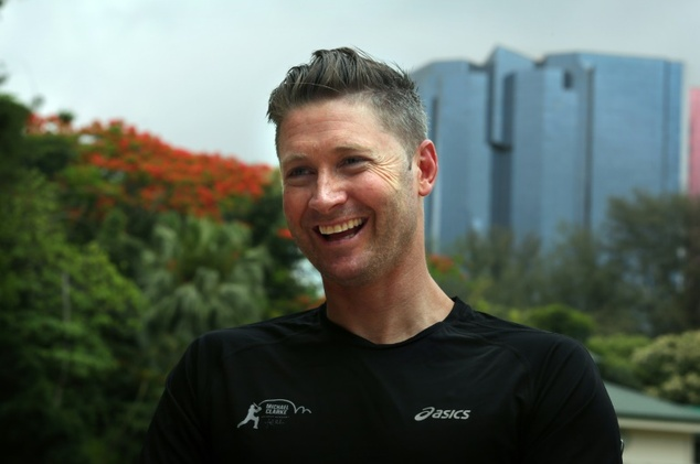 Former Australian cricket captain Michael Clarke retired after last year's Ashes series