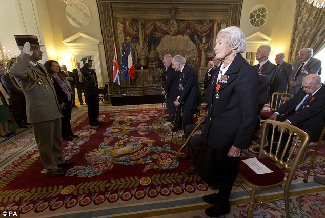 She was working 'extraordinary hours' while doing all of the initial typing and working on the orders for Operation Overlord, which was the code name for the Battle of Normandy