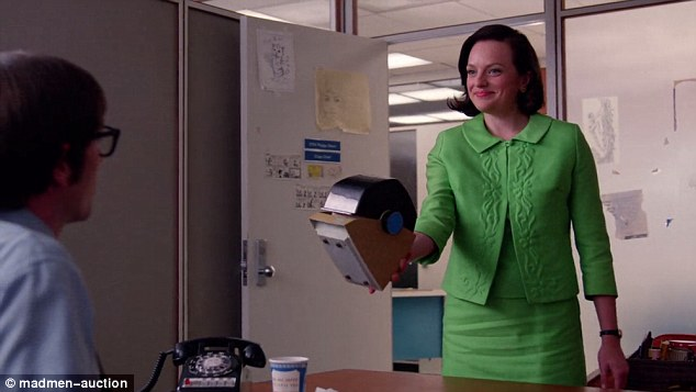 The Rolodex belonging to Don Draper's secretary Peggy Olson will also be auctioned off in the online sale