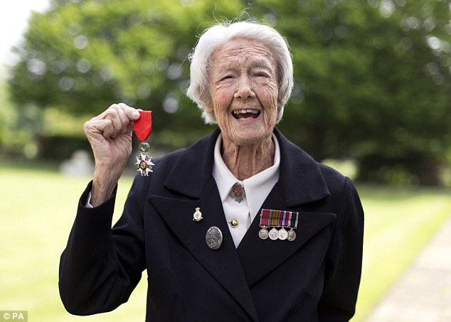 Marsie Taylor, 96, has become the first woman to be awarded the Legion d'Honneur medal after she helped plan the D-Day landings in 1944