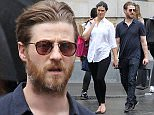 Picture Shows: Morena Baccarin, Ben McKenzie  June 03, 2016    'Gotham' actor Ben McKenzie and his actress partner Morena Baccarin were spotted shopping while out and about in Manhattan, New York. Morena had a few bags in her hand and carried them throughout the city.    Non Exclusive  UK RIGHTS ONLY    Pictures by : FameFlynet UK © 2016  Tel : +44 (0)20 3551 5049  Email : info@fameflynet.uk.com