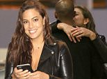 """EXCLUSIVE: """"Sports Illustrated"""" model Ashley Graham is seen kissing her husband, Justin Ervin as the plus-size model catches a flight out of Los Angeles to be backstage host at the Miss USA pageant.  The young couple who have been married since 2010 show their tender love for eachother as her husband drops her off at LAX.\n\nPictured: Ashley Graham\nRef: SPL1295511  030616   EXCLUSIVE\nPicture by: Sharky/Polite Paparazzi/Splash\n\nSplash News and Pictures\nLos Angeles: 310-821-2666\nNew York: 212-619-2666\nLondon: 870-934-2666\nphotodesk@splashnews.com\n"""