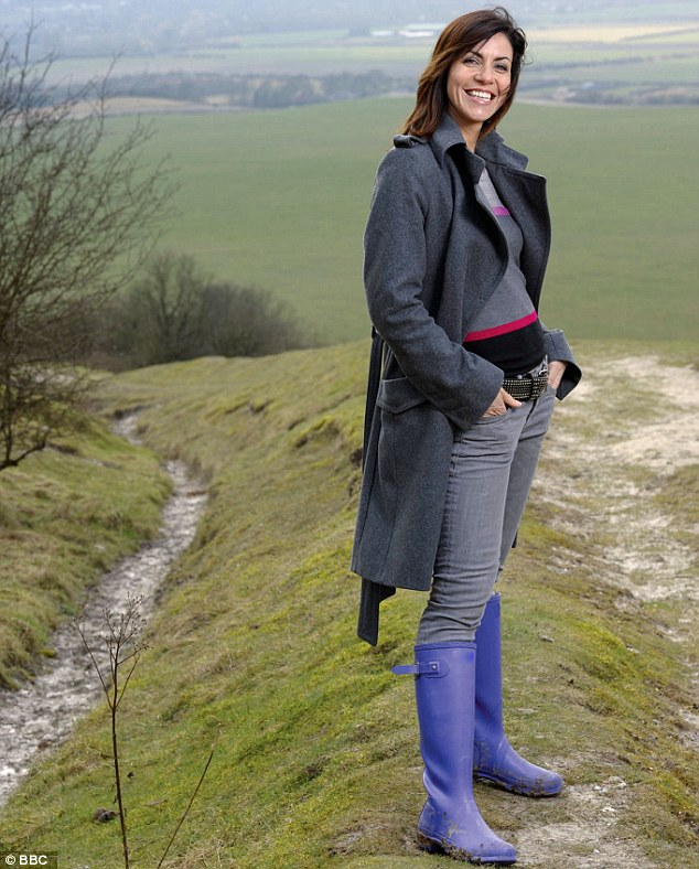 Julia Bradbury took over from Ms O'Reilly and three other female presenters in their forties on Countryfile