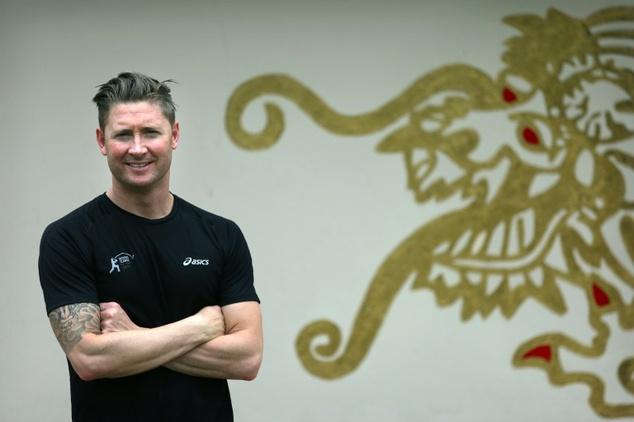 Former Australian cricket captain Michael Clarke is in Hong Kong for the T20 Blitz