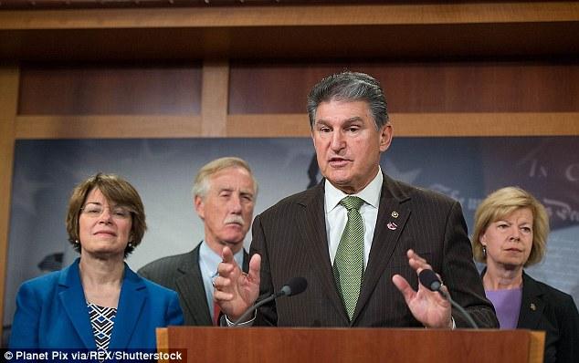 West Virginia Senator Joe Manchin called the idea of a Trump-Sanders debate 'bulls***'