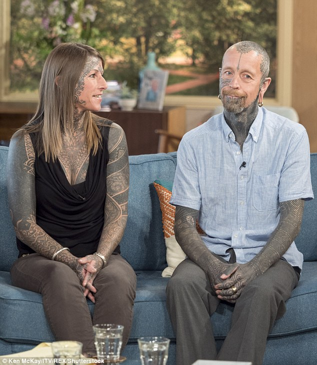 The pair met in 2003 when Jacqui went into Curly's tattoo parlour to get a design to celebrate her divorce