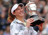 4/6/2016 French Open Tennis Roland Garros Paris France Garbine Muguruza beats Serena Williams in Ladies Singles Final   Picture Dave Shopland/Daily Mail