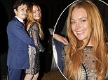 Lindsay Lohan Seen Arriving At Hofit Golan's Birthday Party In Central London, The Pictures of The Two Paps Lindsay Lohan Took Some Of The Pictures   Byline Must Read: JG/JC/Blitz