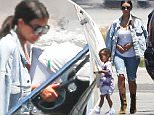 Van Nuys, CA - Kim Kardashian and husband Kanye West hop on a private plane at Van Nuys Airport with their kids North and Saint.  Kim draped her denim jacket over her shoulders and carried baby Saint onto the plane while North was watched closely by their nanny.\nAKM-GSI          June 4, 2016\nTo License These Photos, Please Contact :\nMaria Buda\n(917) 242-1505\nmbuda@akmgsi.com\nsales@akmgsi.com\nor \nMark Satter\n(317) 691-9592\nmsatter@akmgsi.com\nsales@akmgsi.com