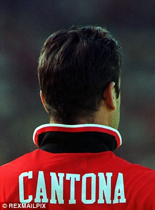 Cantona was certainly a connoisseur of the upturned collar and it became his hallmark
