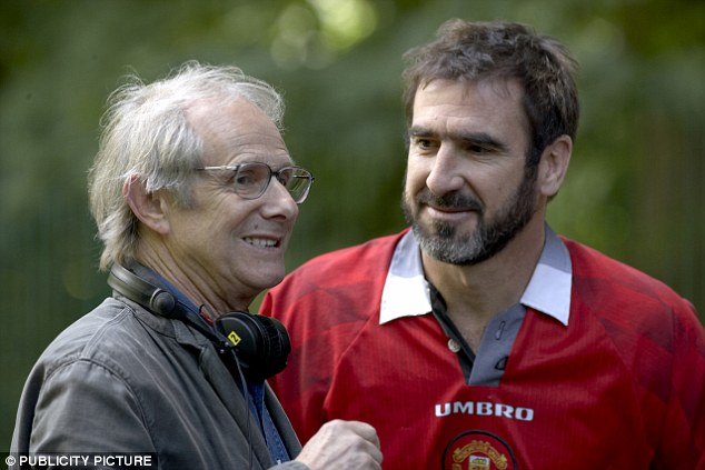 'Looking for Eric' director Ken Loach and Cantona, who appears as himself in the 2009 film