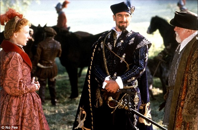 Cantona is character as Monsieur de Foix in the 1998 period film Elizabeth