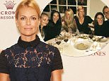 SYDNEY, AUSTRALIA - MARCH 20:  Sarah Murdoch poses at the Crown's Autumn Ladies Lunch at David Jones Elizabeth Street Store on March 20, 2015 in Sydney, Australia.  (Photo by Don Arnold/WireImage)