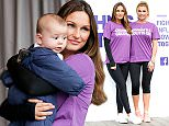 Mandatory Credit: Photo by Tom Nicholson/REX/Shutterstock (5705960f) Sam Faiers and Billie Faiers Sam Faiers launches 'WALK IT', London, Britain - 04 Jun 2016 Sam Faiers launches WALK IT London for Crohn's & Colitis UK at Victoria Embankment Gardens, London.