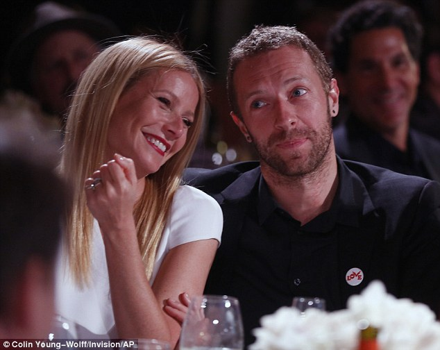 Not a happy ending: Chris and Gwyneth split up in 2014 after ten years of marriage