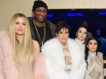 FILE - MAY 26:  TV personality Khloe Kardashian filed for divorce from former NBA Player Lamar Odom on May 26 citing irreconcilable differences. NEW YORK, NY - FEBRUARY 11:  (L-R) Khloe Kardashian, Lamar Odom, Kris Jenner, Kendall Jenner, Kourtney Kardashian, Kanye West, Kim Kardashian, Caitlin Jenner and Kylie Jenner attend Kanye West Yeezy Season 3 on February 11, 2016 in New York City.  (Photo by Jamie McCarthy/Getty Images for Yeezy Season 3)