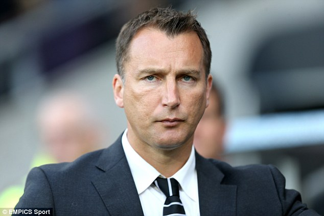 Interim manager Darren Wassall has now returned to his former role as head of Derby's academy