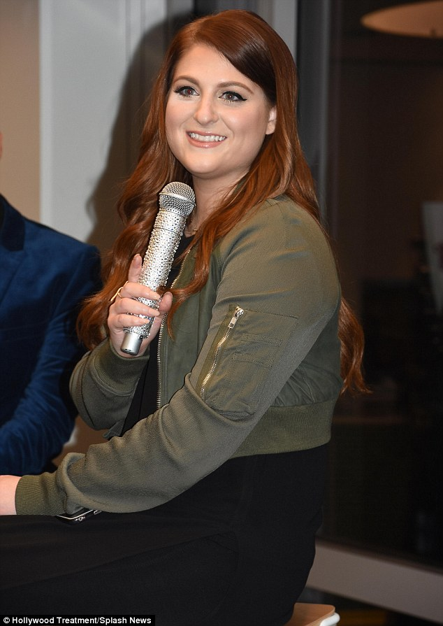 Reasoning: Meghan Trainor explained on Sunday that she had decided to make her latest Photoshopping situation public knowledge because she didn't want her fans to think she had done it to herself