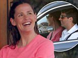 Malibu, CA - Jennifer Garner shows her big bright smile while in conversation with a mystery man outside the SoHo House.  Jennifer appeared to be quite comfortable and enjoying the company of the ringless man who also drover her home after having lunch.  Is Jennifer starting to date again?\nAKM-GSI          June 4, 2016\nTo License These Photos, Please Contact :\nMaria Buda\n(917) 242-1505\nmbuda@akmgsi.com\nsales@akmgsi.com\nor \nMark Satter\n(317) 691-9592\nmsatter@akmgsi.com\nsales@akmgsi.com