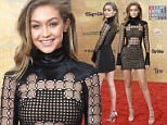 Mandatory Credit: Photo by Rob Latour/REX/Shutterstock (5705890bd)\nGigi Hadid\nSpike's Guys Choice, Arrivals, Los Angeles, America - 04 Jun 2016\n