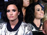 INGLEWOOD, CA - JUNE 04:  Singer Demi Lovato in the audience during the UFC 199 event at The Forum on June 4, 2016 in Inglewood, California.  (Photo by Josh Hedges/Zuffa LLC/Zuffa LLC via Getty Images)