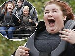 Picture Shows: Kerry Katona  June 02, 2016    Kerry Katona was seen out with her family, enjoying the day at Thorpe Park in London, England.    Exclusive  WORLDWIDE RIGHTS    Pictures by : FameFlynet UK © 2016  Tel : +44 (0)20 3551 5049  Email : info@fameflynet.uk.com