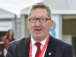 Labour Party Annual Conference at Manchester Central, Greater Manchester. - Unite Union Gen. Sec. Len McCluskey. Pic Bruce Adams / Copy Lobby - 22/9/14 . REXMAILPIX.