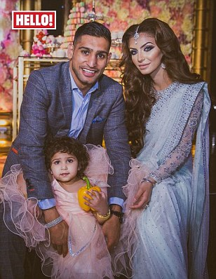 Amir Khan and wife Faryal splash out £100k on their daughter's 2nd birthday