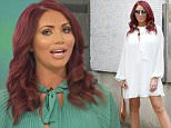 LONDON, ENGLAND - JUNE 06:  Amy Childs seen at the ITV Studios on June 6, 2016 in London, England.  (Photo by Neil Mockford/GC Images)