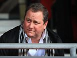 Newcastle United owner Mike Ashley takes his seat prior to kickoff during the Barclays Premier League match between Southampton and Newcastle United at St Mary's Stadium on March 29, 2014 in Southampton, England.     SOUTHAMPTON, ENGLAND - MARCH 29. (Photo by Richard Heathcote/Getty Images)