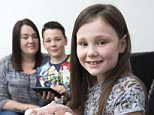 2 June 2016: Stephanie Graves from Hull, East Yorkshire, whose two children Bailey (9) and Bobbie (7) have been learning how and why to save money at school. They are pictured with their piggy bank and calculator...Att: Ben Green, Mail On Sunday Pic Desk..Picture: Sean Spencer/Hull News & Pictures Ltd..01482 772651/07976 433960..www.hullnews.co.uk   sean@hullnews.co.uk..