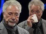 Sir Tom Jones speaks during the 2016 Hay Festival on June 5, 2016 in Hay-on-Wye, Wales. This is the Welsh singerÌs first public appearance since the death of his wife Lady Melinda Rose Woodward who died on April 10, 2016. PIC Matthew Horwood © WALES NEWS SERVICE