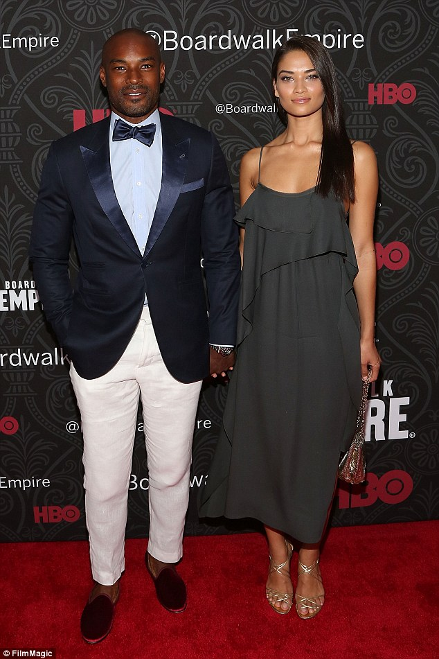 The ex: She dated model Tyson Beckford on and off since 2008 before splitting last year