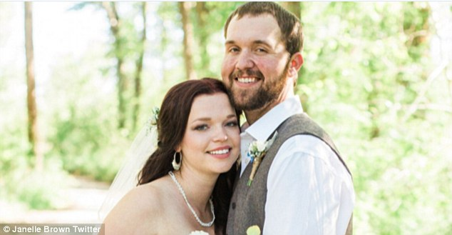 They're hitched: Sister Wives star Maddie Brown and fiancé Caleb Brush, both 20, tied the knot at an outdoor wedding in Bozeman, Montana, on Saturday, vowing to stay monogamous