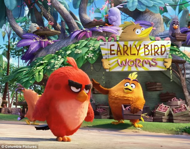 High flyer:Sony's The Angry Birds Movie rounded out the Top Five with $9.7 million in its fourth weekend, pushing the family films' gross to $86.7 million and $283.5 million globally